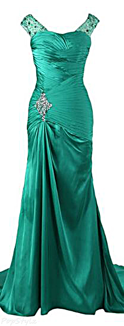Sunvary Long Mermaid Formal Evening Gown