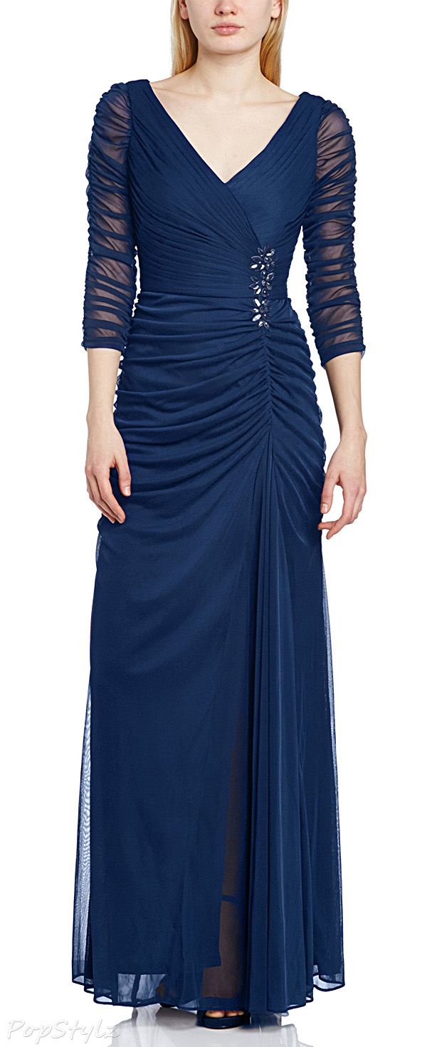 Adrianna Papell Twilight Drape Covered Gown