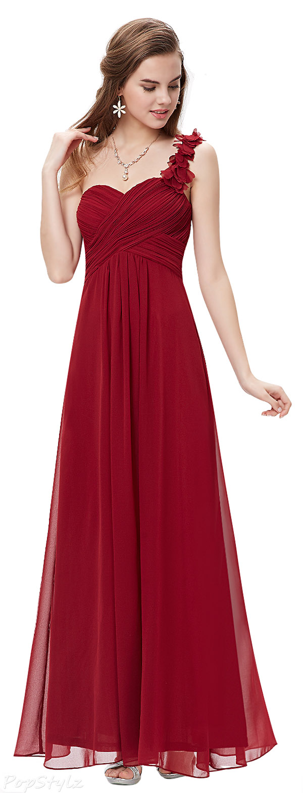 Ever Pretty 09768 One Shoulder Long Evening Dress