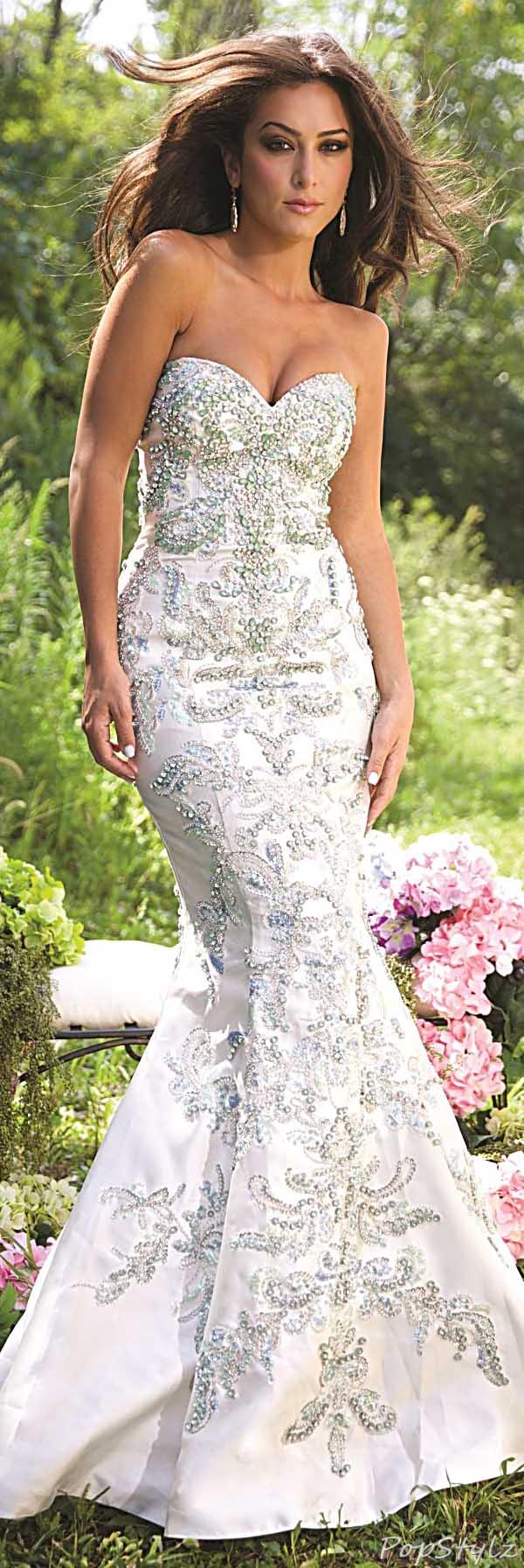 Jovani 20944 Strapless 2015 Mermaid Evening Gown