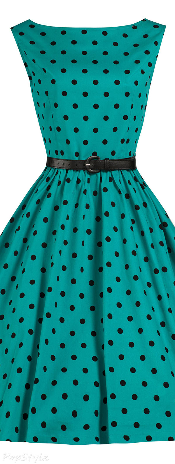 Lindy Bop 'Audrey' Vintage Polka Dot 1950's Swing/Jive Dress