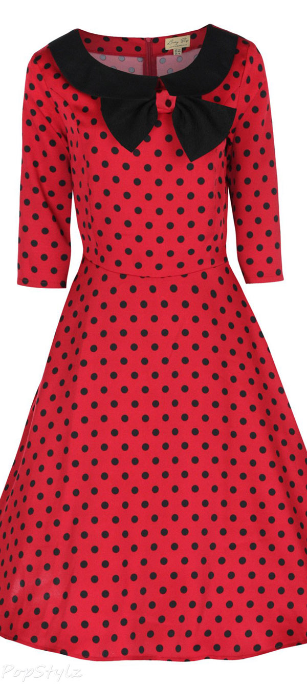 Lindy Bop 'Cassy' Vintage 1950's Parisian Dress
