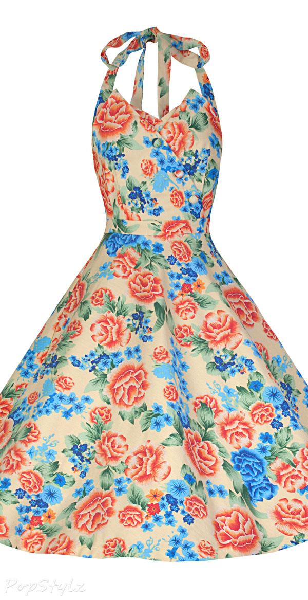Lindy Bop 'Myrtle' Classy Vintage 1950's Swing Dress