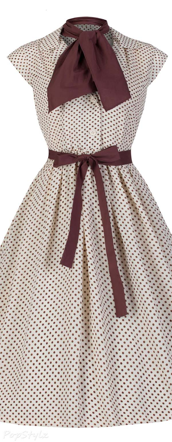 Lindy Bop 'Penny' Vintage 1950's Polka Dot Dress