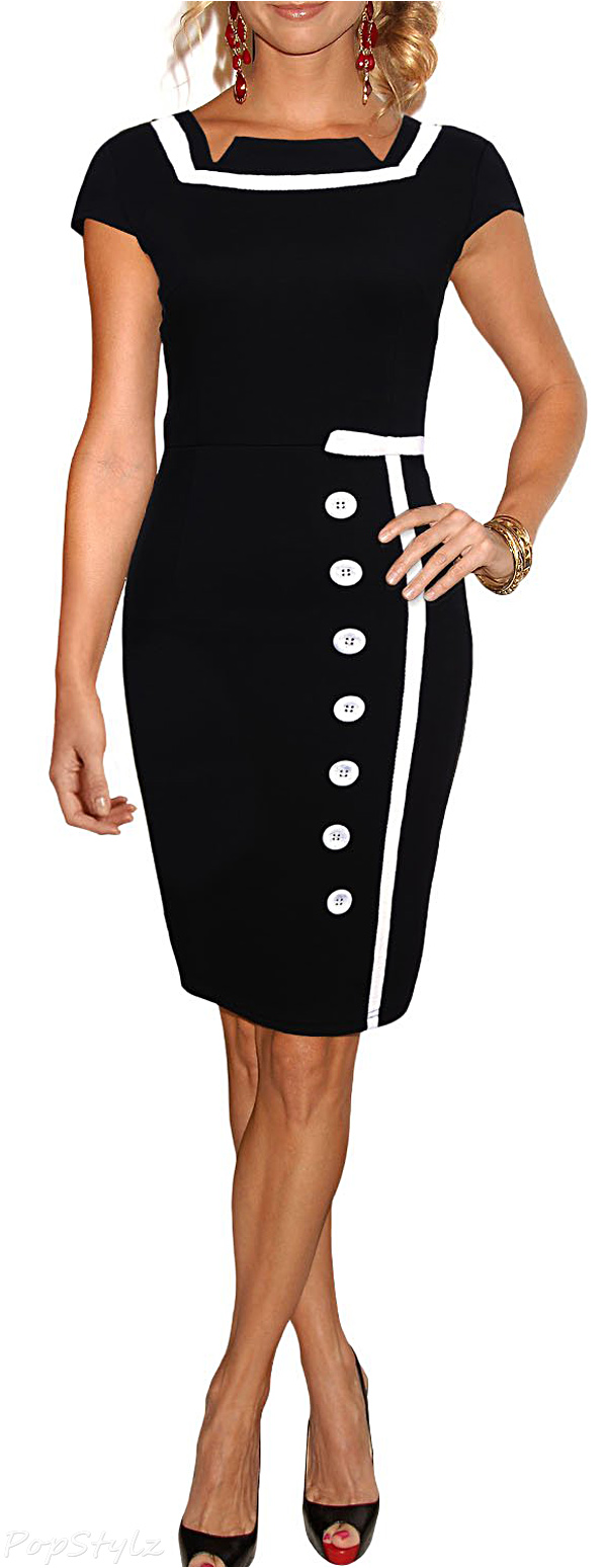 MIUSOL Bodycon Business Cocktail Pencil Dress