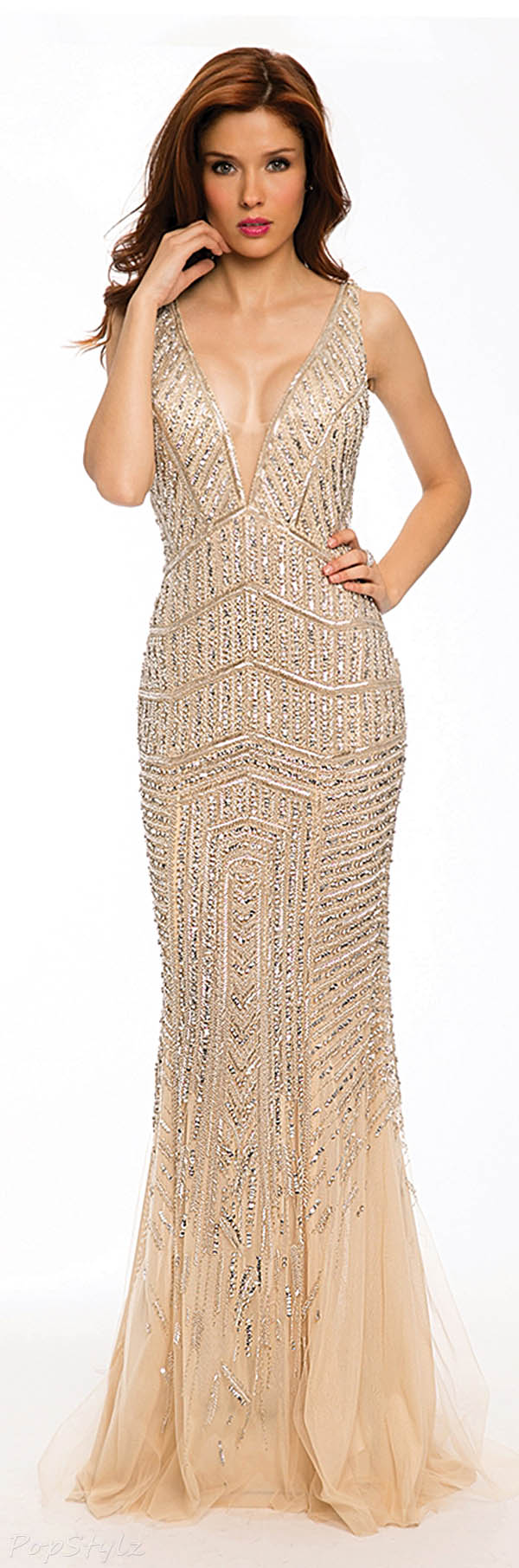 Jovani 20736 Long Sparkling 2015 Evening Gown