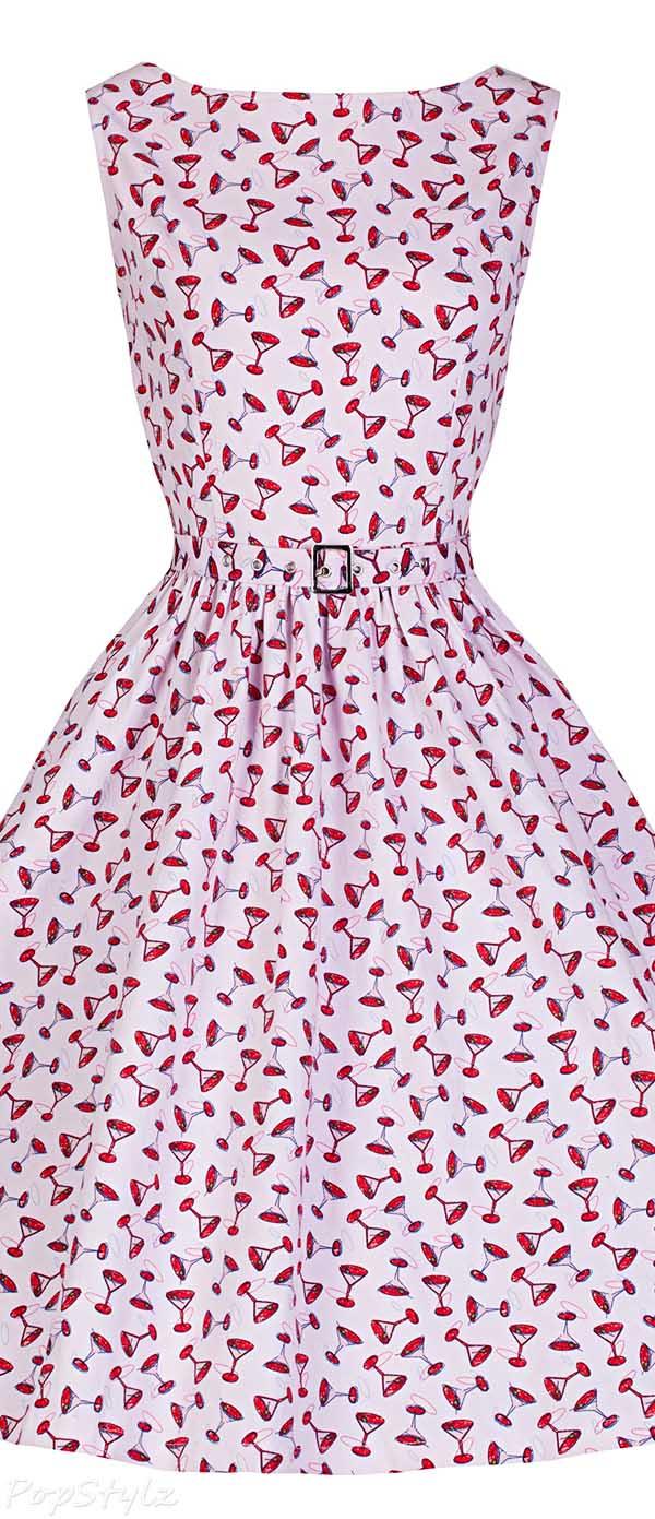 Lindy Bop 'Audrey' Vintage 1950's Rock N Roll Swing Jive Dress