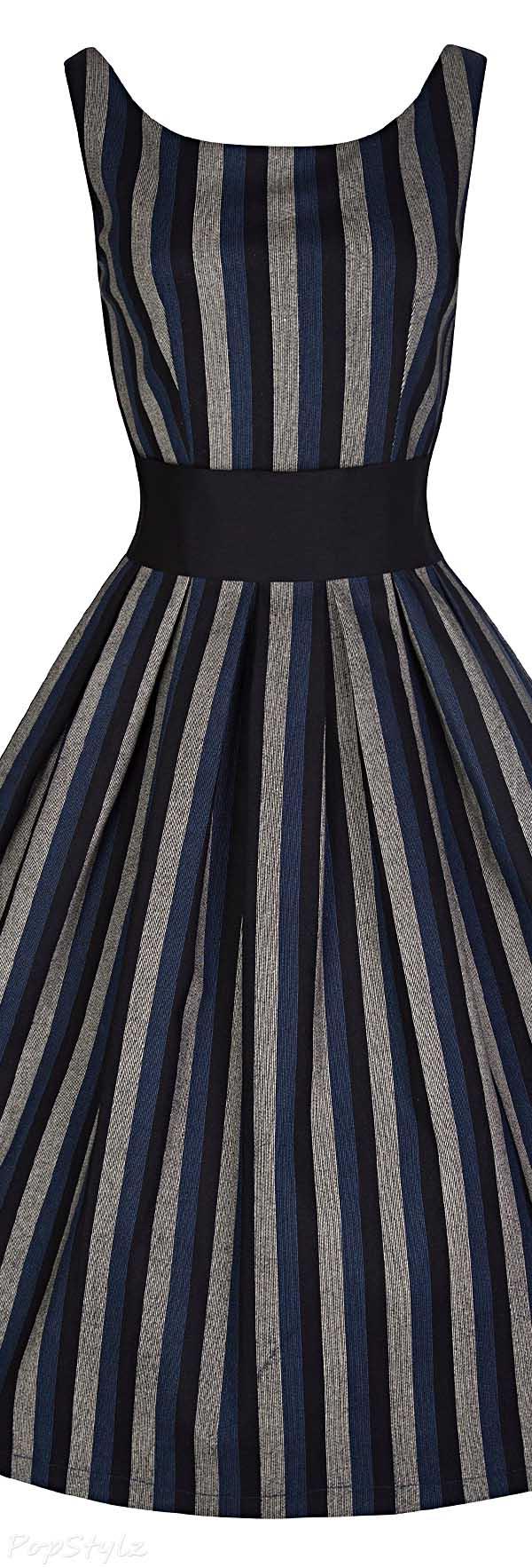 Lindy Bop 'Lana' Vintage 50's Dress & Waspie Waist Belt