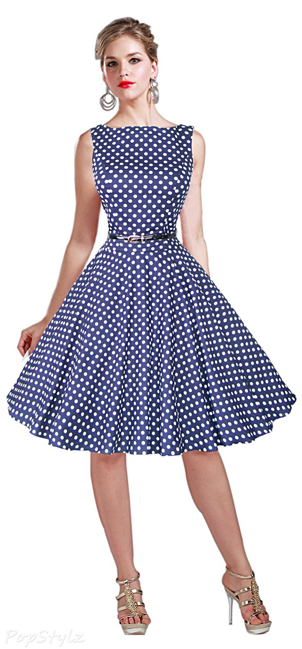 Maggie Tang Vintage 1950s Rockabilly Dress