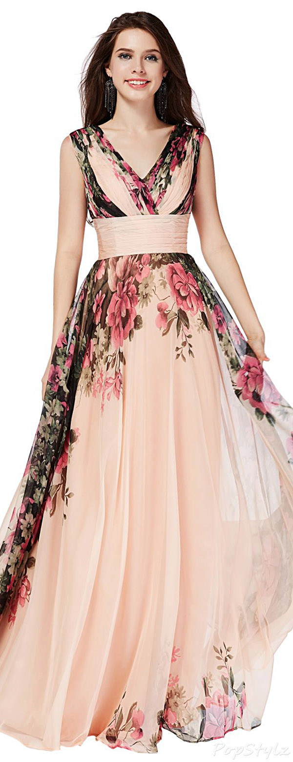 Sunvary 2015 Summer Chiffon Long Flowing Gown