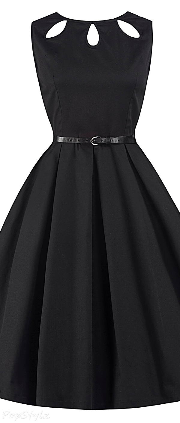 Lindy Bop 'Lily' 1950's Classy Cut Out Rockabilly Dress