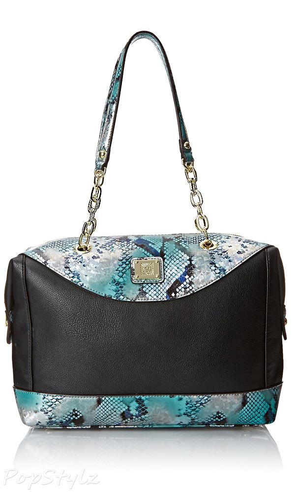Anne Klein String Me Along Satchel Handbag