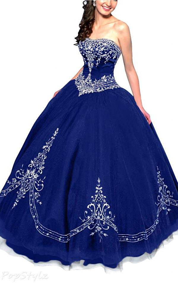 Gorgeous Bridal Retro Princess Tulle Satin Ball Gown