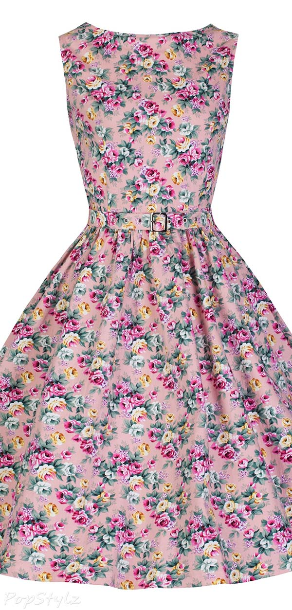 Lindy Bop Audrey Hepburn 1950's Rockabilly Dress