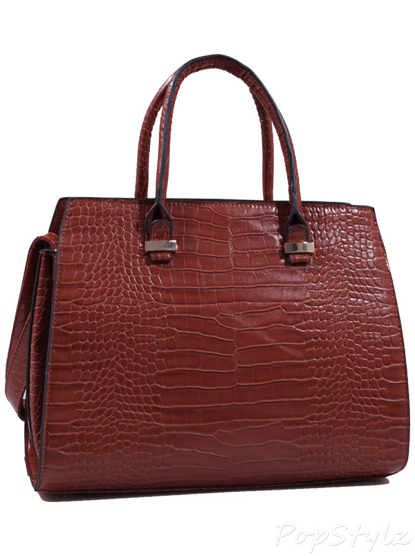 MyLux Fashion Crocodile Pattern Designer andbag