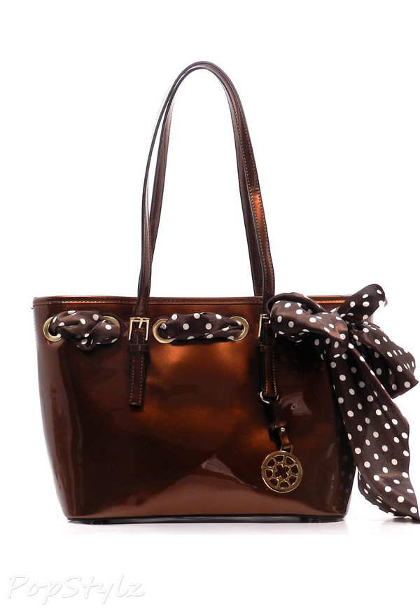MyLux Special Edition Ribbon Double Handle Handbag
