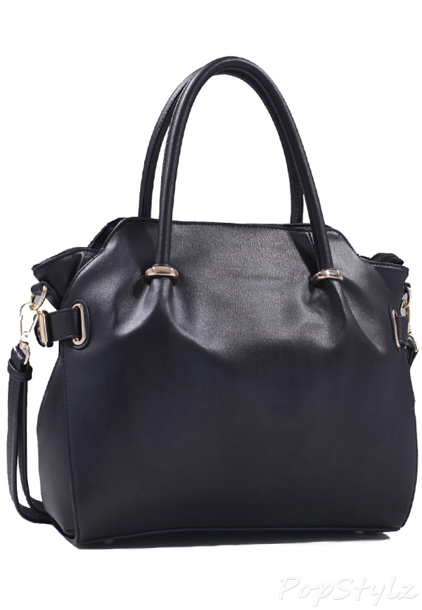 MyLux Fashion Designer Hobo V-Selection Handbag