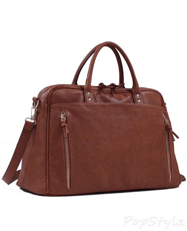 MyLux Oversized Casual Travel Tote Luggage Duffel Handbag