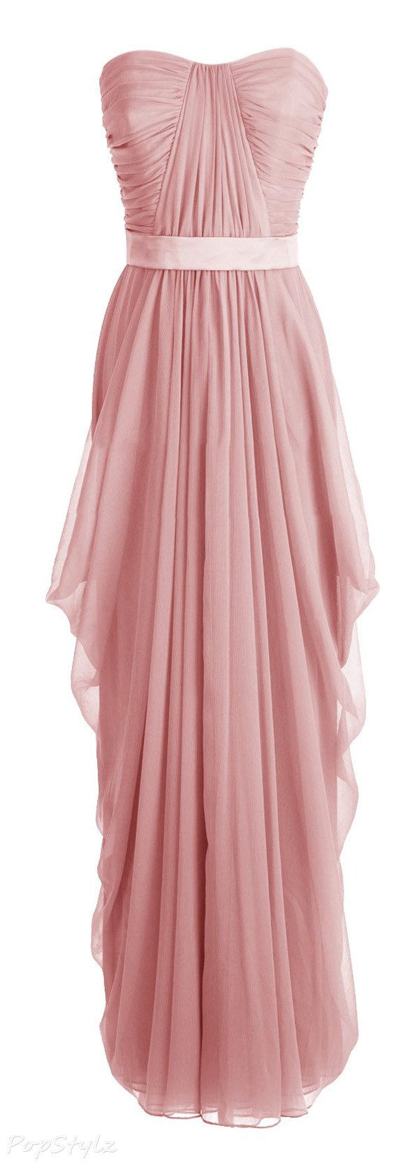 Diyouth Sweetheart Formal Strapless Long Gown