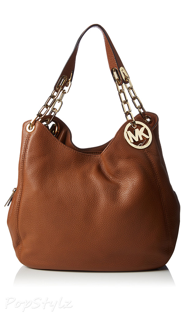 Michael Kors Fulton Large Leather Shoulder Handbag