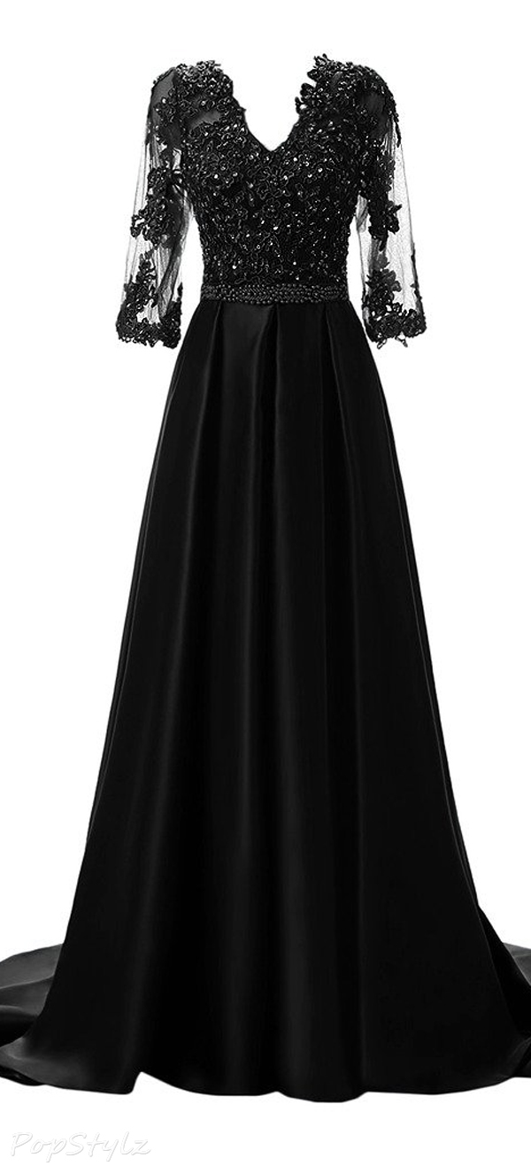 Sunvary Elegant Long Formal Evening Dress