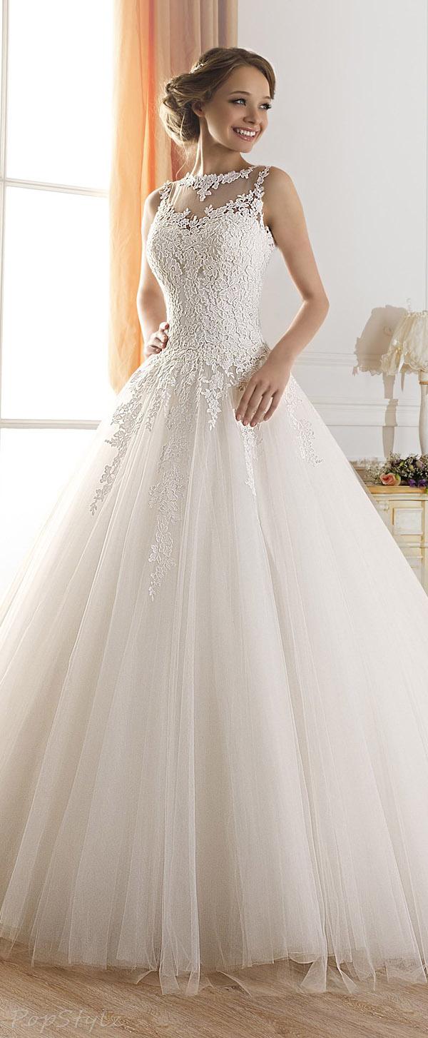 TBB Tulle Lace Appliques Elegant Long Gown