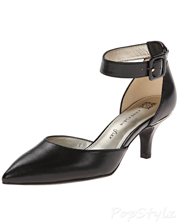 Anne Klein Fabulist Leather Dress Pump