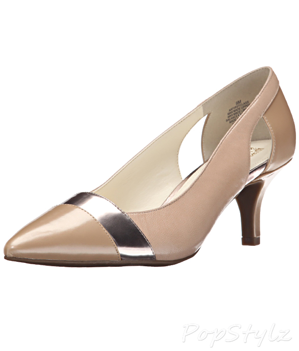 Anne Klein Firstclass Leather Dress Pump