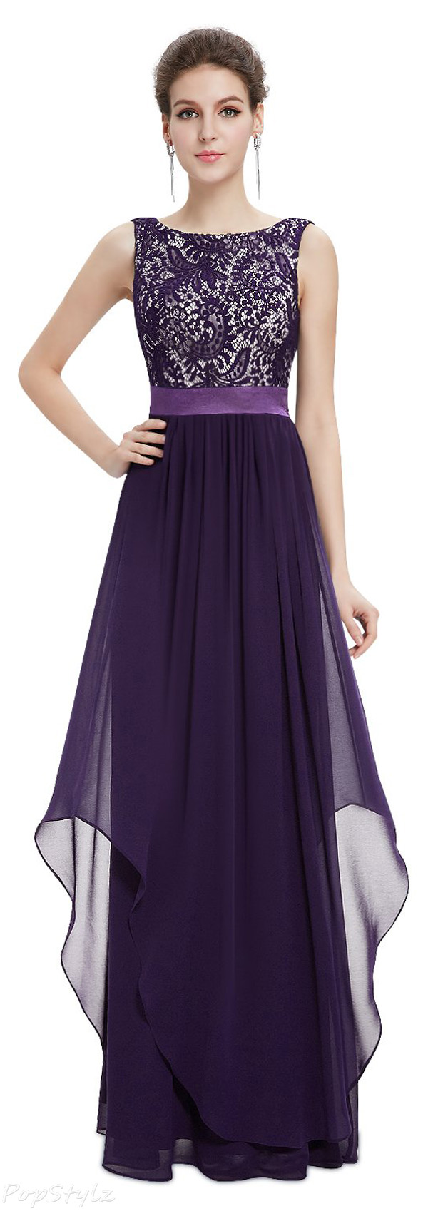 Ever Pretty Elegant Sleeveless Long Evening Dress