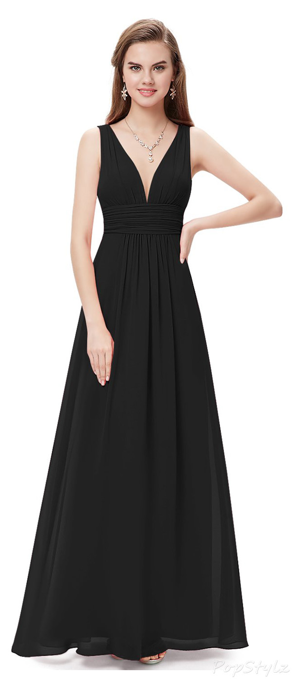 Ever Pretty Sleeveless Semi-Formal Maxi Dress