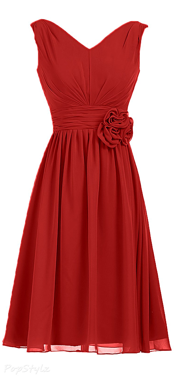 Sunvary Short Chiffon Formal Dress