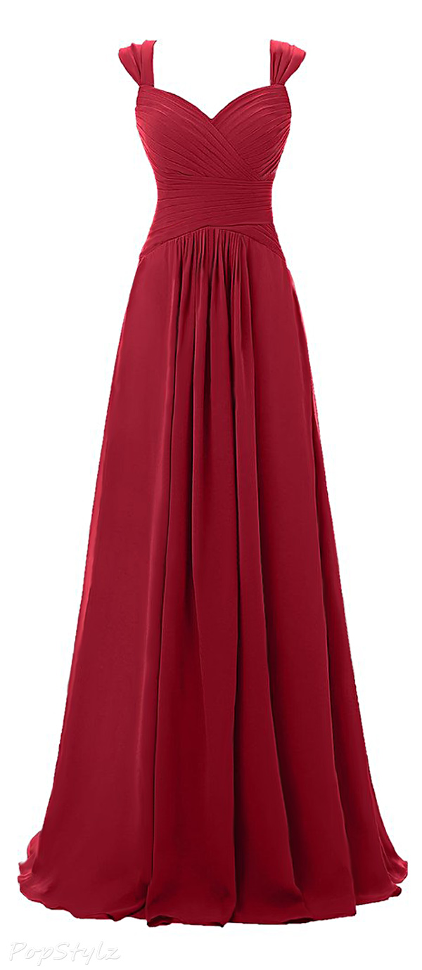 Topdress Sweetheart Long Evening Gown