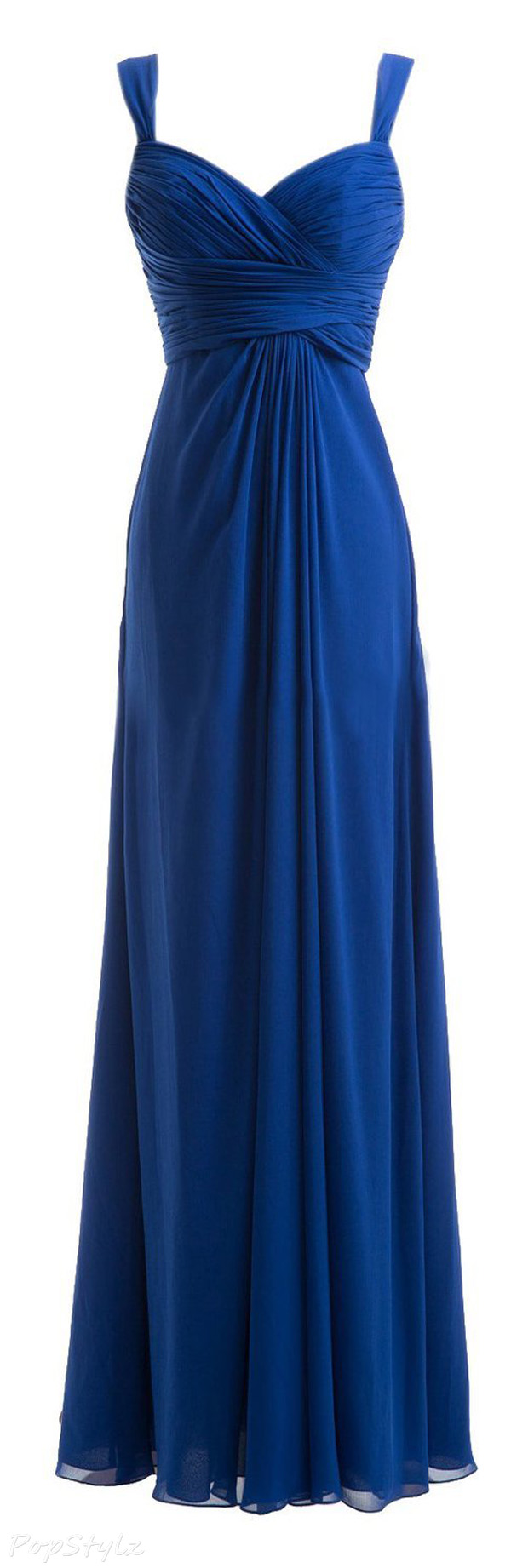 Diyouth Sweetheart Spaghetti Straps Formal Gown