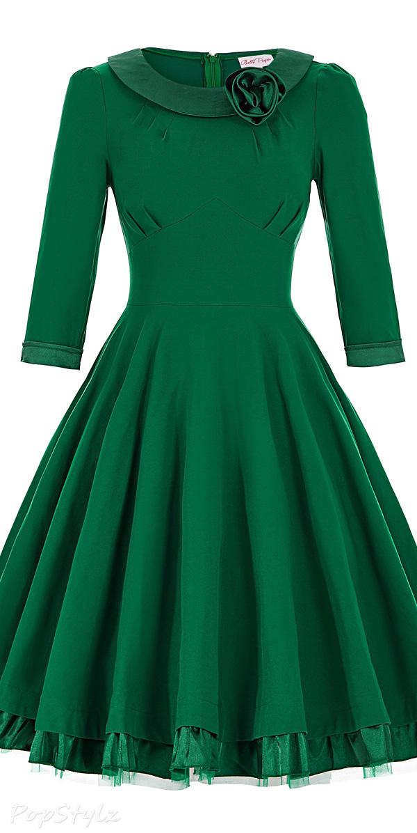 Grace Karin Belle Poque Pleated Swing Dress