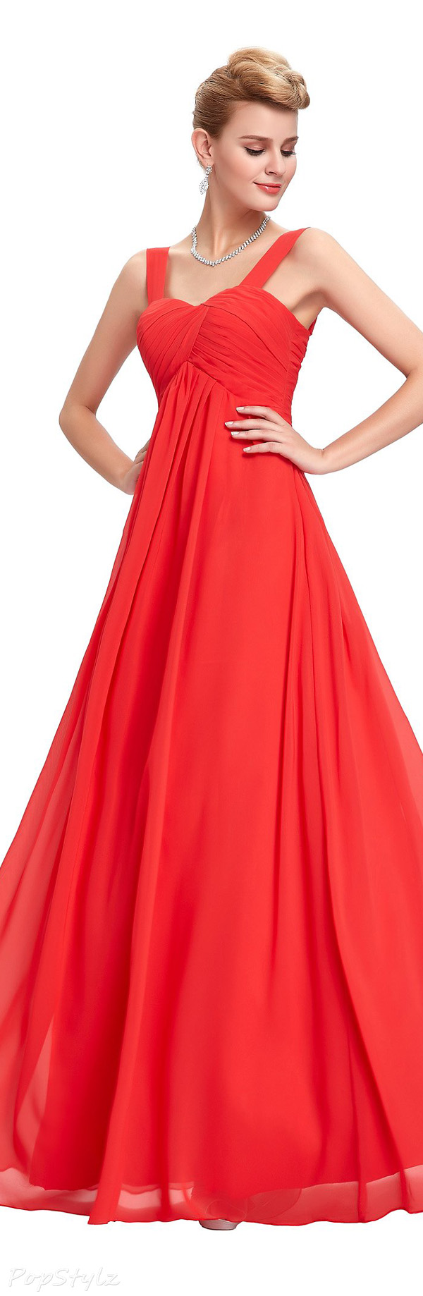 Grace Karin Empire Waist Evening Gown