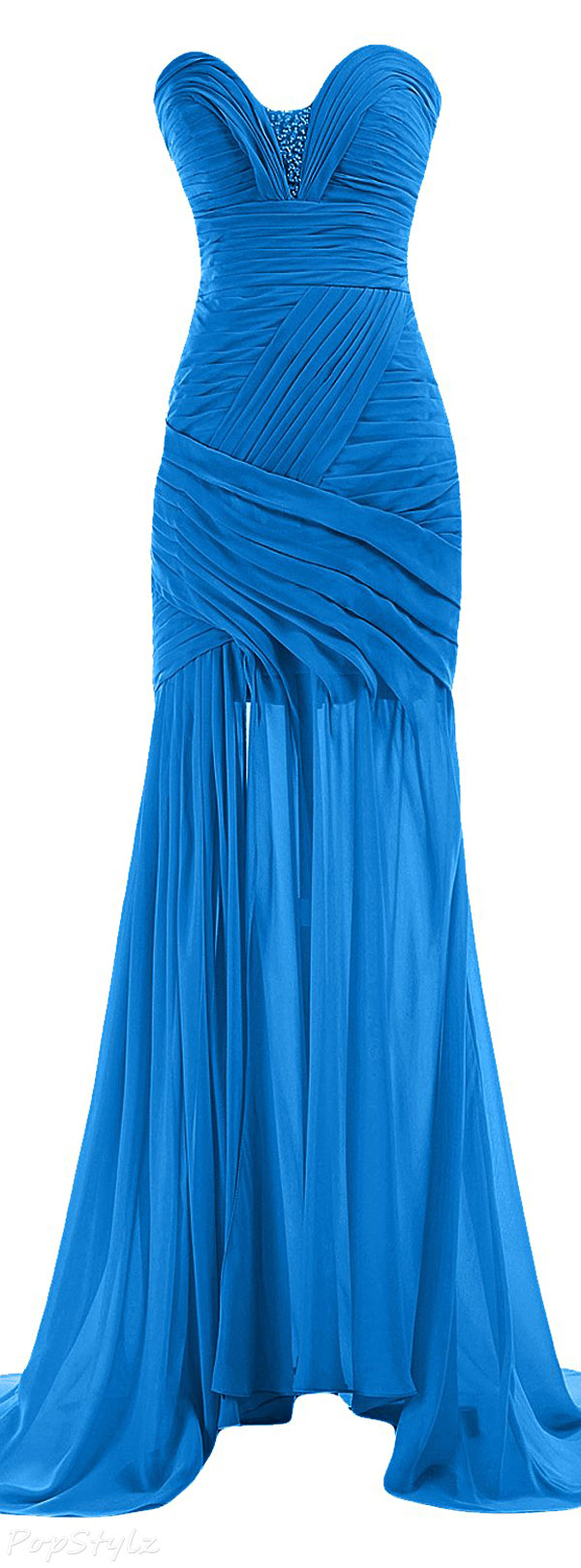 Sunvary Strapless Sweetheart Evening Gown