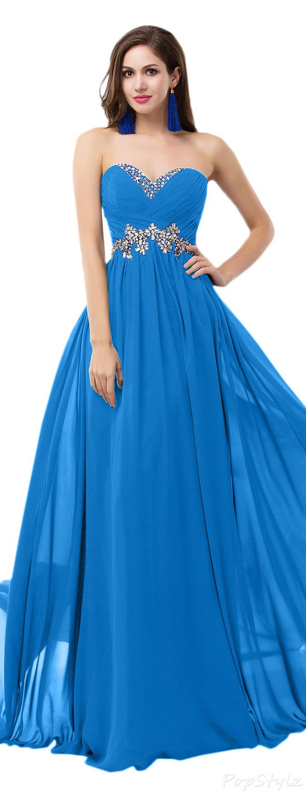 Sunvary Sweety Chiffon Long Evening Gown