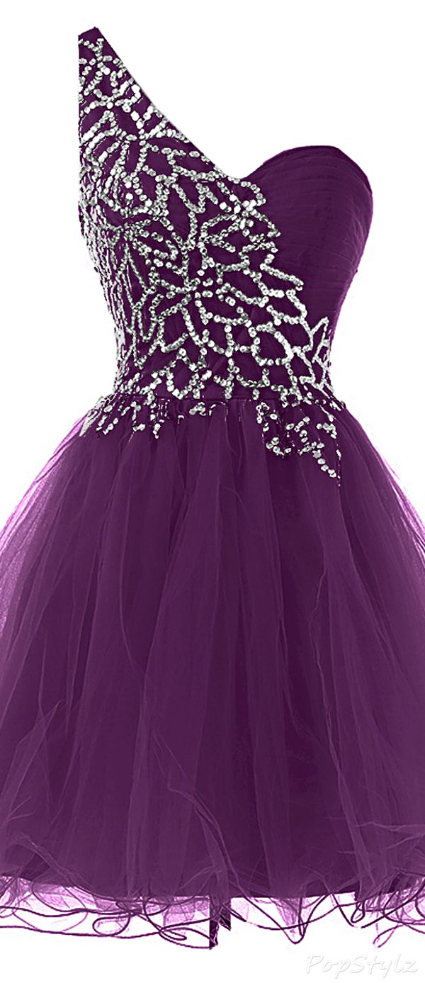 Sunvary Sweety Girl Short Tulle Formal Dress