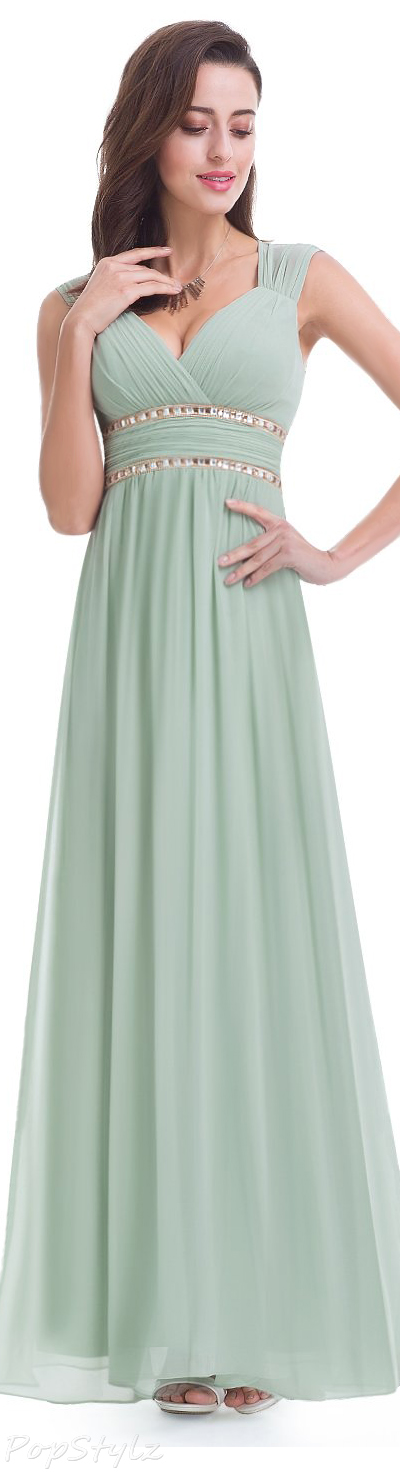 Ever Pretty Sleeveless Grecian Style Long Formal Dress