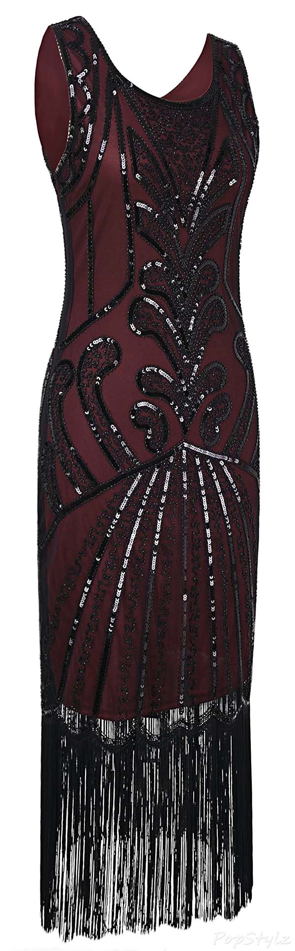 PrettyGuide 1920s Vintage Flapper Dress