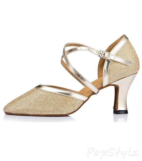 Honeystore Criss Cross Strap Dance Shoe