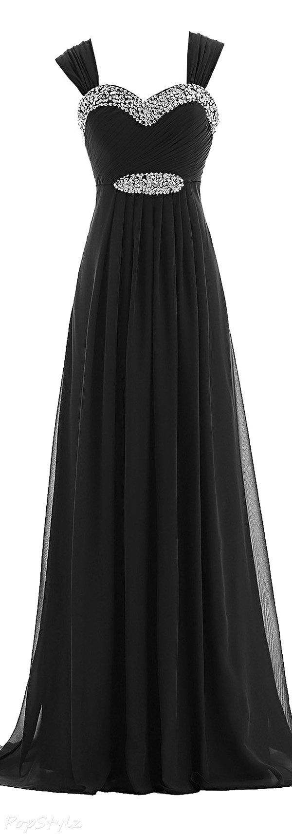 Sunvary Fashion Straps Formal Evening Gown